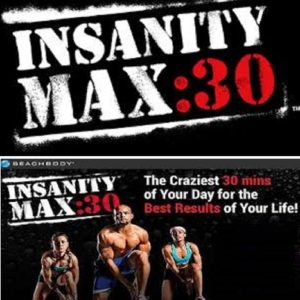 Beachbody Shaun T Insanity Max 30 Workout fitness videos