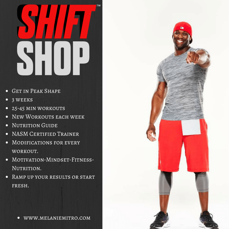 Beachbody Chris Downing S Shift Shop Deluxe Workout Videos Online